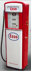 To the Esso brand-page